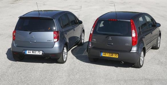 Mitsubishi Colt y restyling - Foto: www.autofacil.es