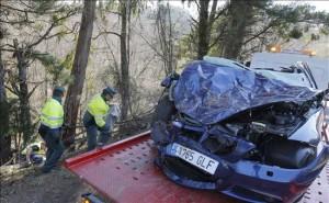 Siniestro total en accidente de tráfico - Foto: http://noticias.coches.com