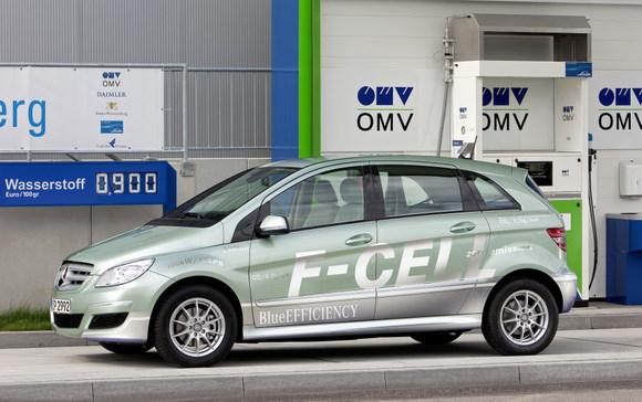 Mercedes B F CELL - Foto: http://es.autoblog.com
