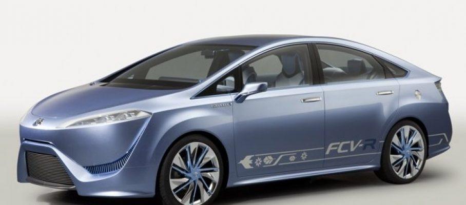 Toyota FCV R - Foto: www.motorpasionfuturo.com